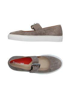 Низкие кеды и кроссовки Pollini