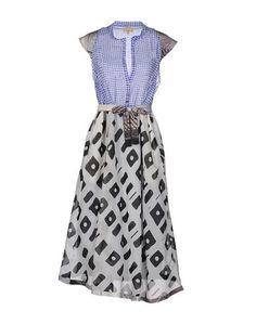 Платье до колена Tessuto Della Memoria BY MalÌparmi