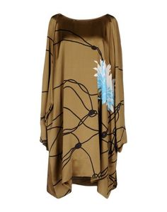 Платье до колена Dries Van Noten