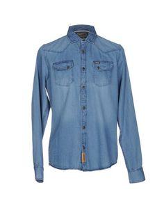 Джинсовая рубашка Petrol Industries CO.