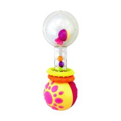 Функциональная погремушка Жирафики «Звонкая гантелька с шариками»