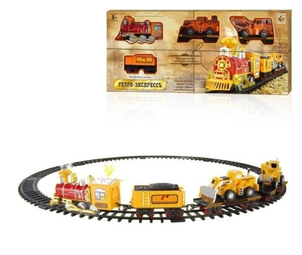 Железная дорога 1Toy «Ретро Экспресс» 12 дет.