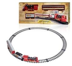 Железная дорога 1Toy «Ретро Экспресс» 11 дет.