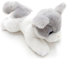 Мягкая игрушка Button Blue «Котенок» 23 см белый с серым
