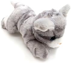 Мягкая игрушка Button Blue «Котенок» 23 см серый