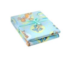 Одеяло Baby Nice байковое 1-стороннее 100% хлопок 100х118 см в ассортименте