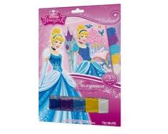 Аппликация из песка Origami «Золушка в замке» Disney Princess