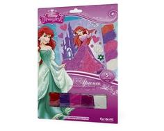 Аппликация из песка Origami «Ариэль в замке» Disney Princess