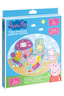 Набор аппликаций 5 картинок Peppa Pig
