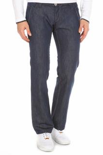 Прямые брюки с застежками John Richmond