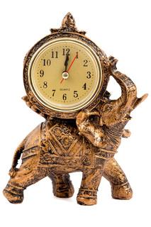 """Часы настольные """"Слон"""" 17x11 Русские подарки"""