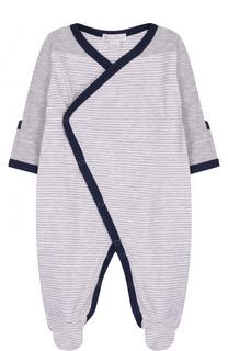 Хлопковая пижама с контрастной отделкой Kissy Kissy