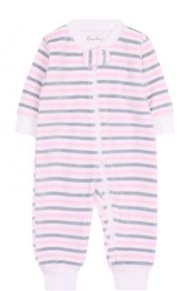 Хлопковая пижама в полоску Kissy Kissy