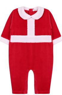 Хлопковая пижама в новогоднем стиле Kissy Kissy