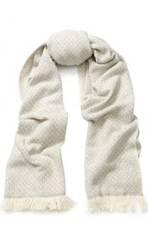 Кашемировый вязаный шарф Loro Piana