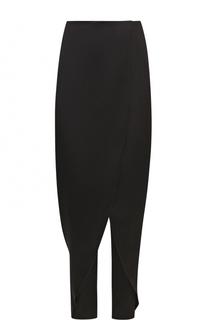 Шелковые укороченные брюки Giorgio Armani