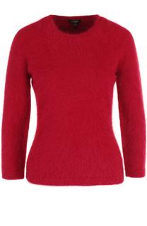 Приталенный пуловер с укороченным рукавом Escada