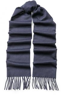 Кашемировый шарф с бахромой Eton