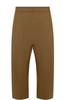 Укороченные брюки из смеси хлопка и льна с заниженной линией шага Haider Ackermann