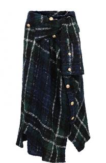 Буклированная мини-юбка асимметричного кроя Faith Connexion