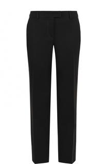Однотонные брюки прямого кроя Fendi