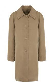 Пальто свободного кроя с отложным воротником Vetements