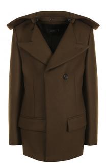 Укороченное шерстное пальто Joseph