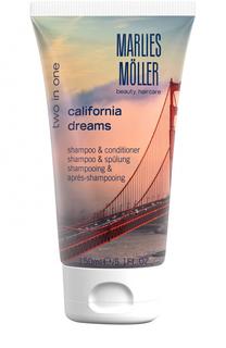 Шампунь и кондиционер 2 в 1 California Dreams Marlies Moller