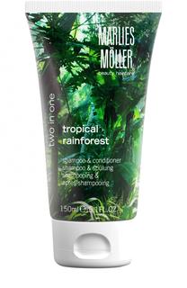 Шампунь и кондиционер 2 в 1 Tropical Rainforest Marlies Moller