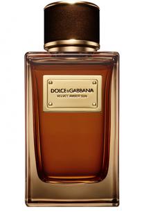 Парфюмерная вода Velvet Collection Amber Sun Dolce & Gabbana