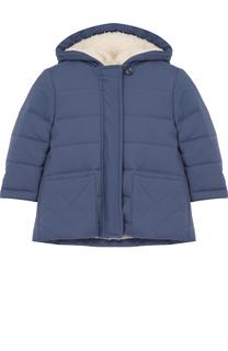 Утепленная куртка с капюшоном Loro Piana