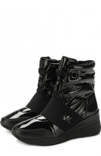 Текстильные утепленные ботинки Shay MICHAEL Michael Kors