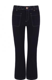 Укороченные расклешенные джинсы See by Chloé