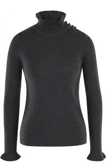 Шерстяной свитер фактурной вязки See by Chloé