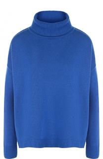 Однотонный свитер свободного кроя с высоким воротником Escada Sport
