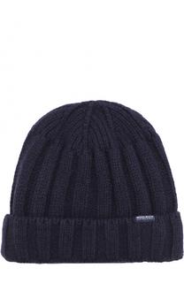 Шерстяная шапка фактурной вязки Woolrich