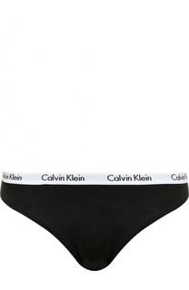Хлопковые трусы-слипы Calvin Klein Underwear
