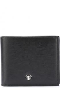 Кожаное портмоне с отделениями для кредитных карт Dior