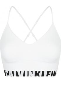 Спортивный бралетт с логотипом бренда Calvin Klein Underwear