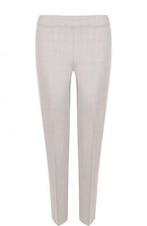 Укороченные шерстяные брюки со стрелками D.Exterior