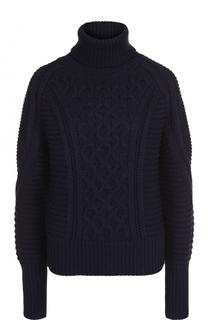 Шерстяной свитер с высоким воротником Mary Katrantzou