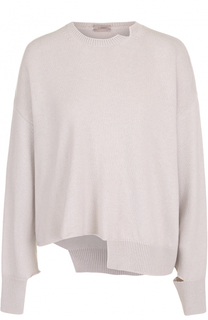 Пуловер свободного кроя из смеси шерсти и кашемира MRZ