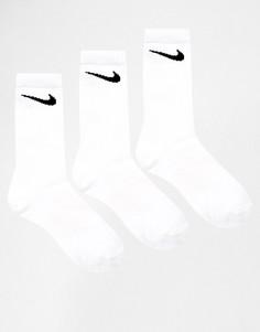 Комплект из 3 пар носков Nike - Белый