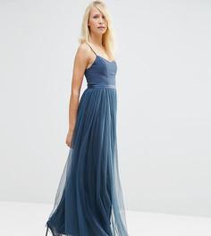Платье макси Needle & Thread Giselle Ballet - Темно-синий