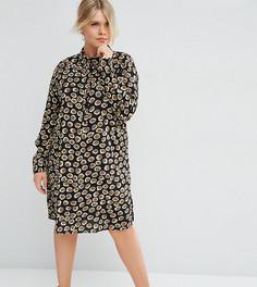 Платье-рубашка со звериным принтом ASOS CURVE - Мульти
