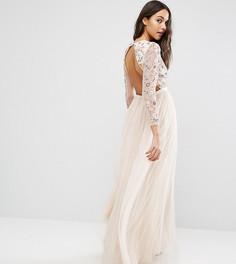 Платье из тюля Needle & Thread - Розовый