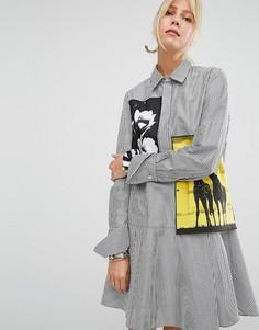 Платье-рубашка Sportmax Code Saloon - Черный