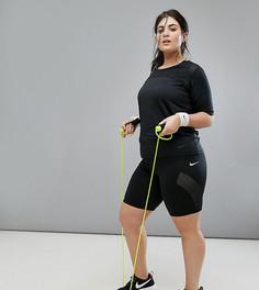 Черные шорты длиной 8 дюймов Nike Plus Pro Training - Черный
