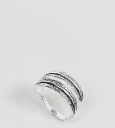 Серебряное кольцо в форме пера Regal Rose Awaken - Серебряный