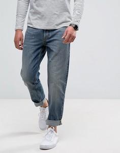 Выбеленные свободные джинсы Calvin Klein - Синий